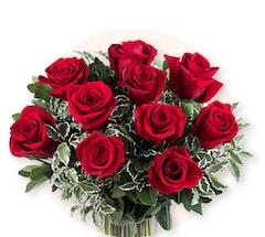Promessa Scarlatta: 10 Rose Rosse